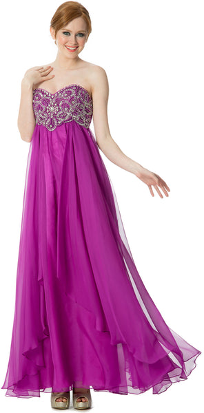 Sweetheart Evening Gown Prom Long Dress