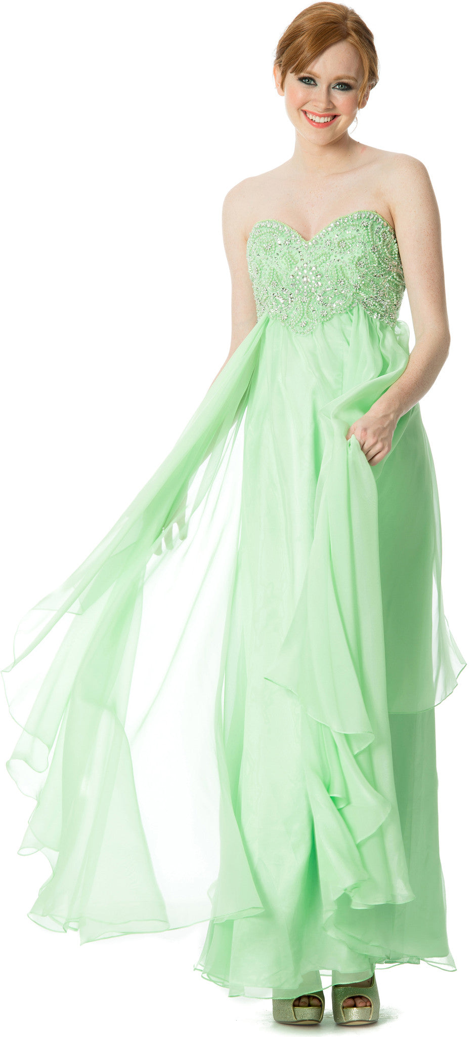 Evening Gown to Prom