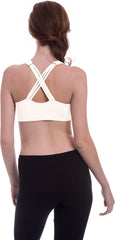 Racerback Strappy Sports Bra - PacificPlex