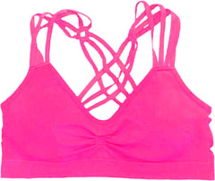Racerback Strappy Sports Bra - PacificPlex - 29