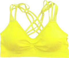 Racerback Strappy Sports Bra - PacificPlex - 30