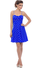 50's Retro Rockabilly Polkadot Dress Sundress