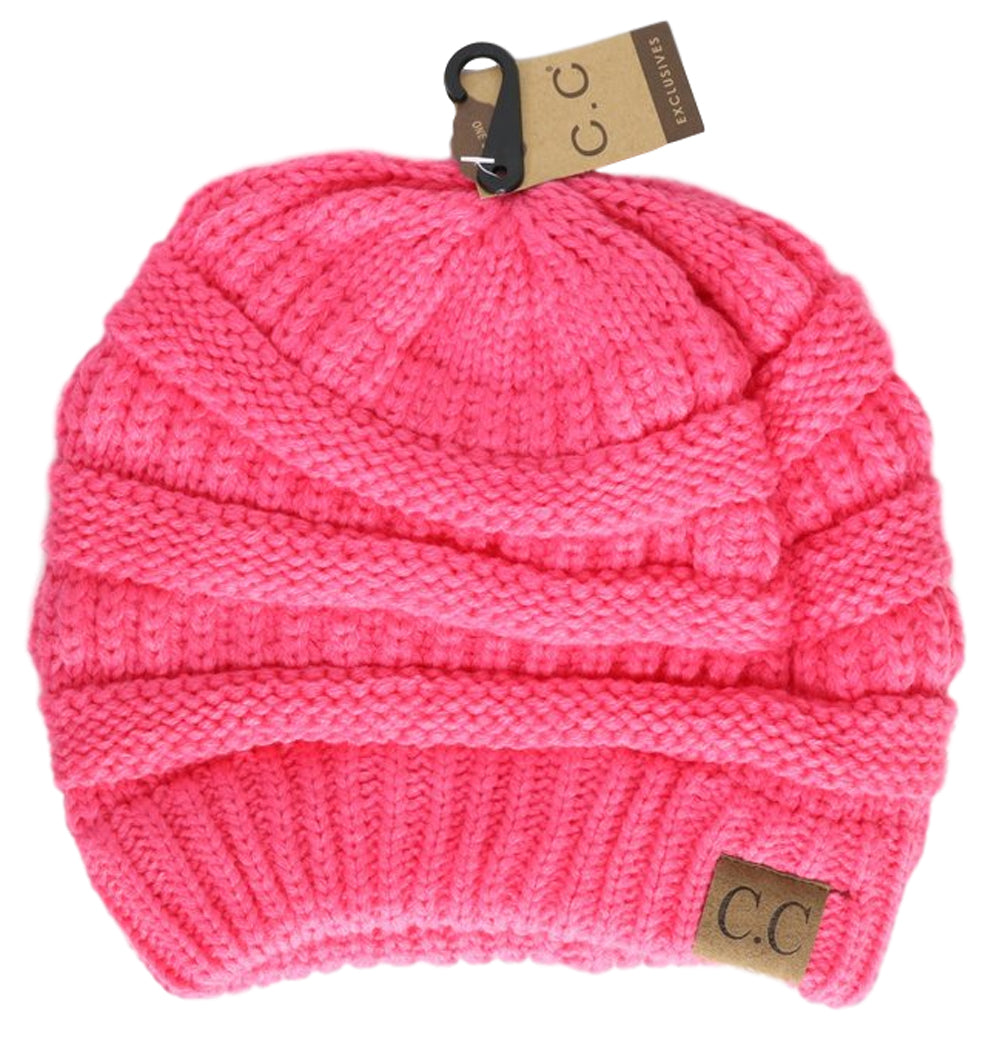 e8ce1e75001 ... Slouchy Cable Knit Beanie Skully Hat - PacificPlex ...