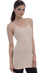 Extra Long Shelf Bra Cotton Cami Tank Top - PacificPlex
