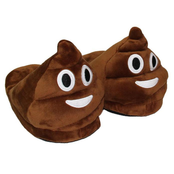 Hot Fashion Plush Emoji Slippers