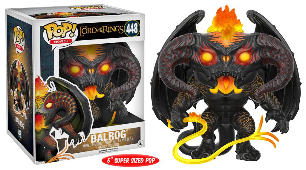 "Balrog 6"" POP Vinyl Figure from The Lord Of The Rings"