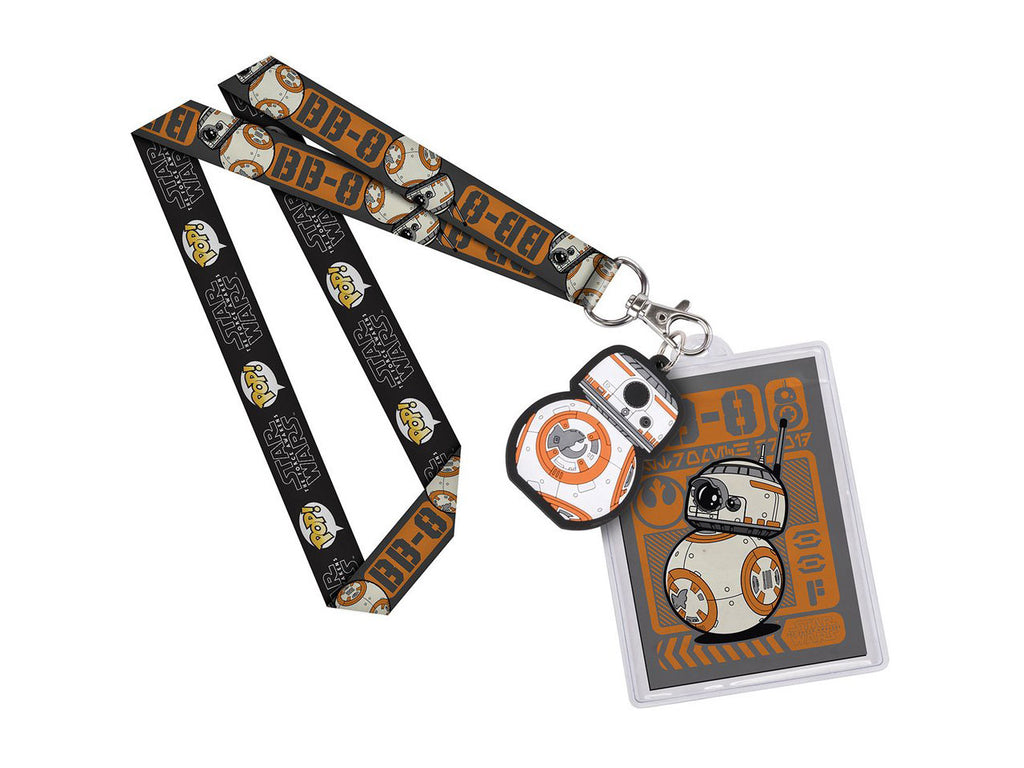 BB8 Lanyard ID Badge Holder