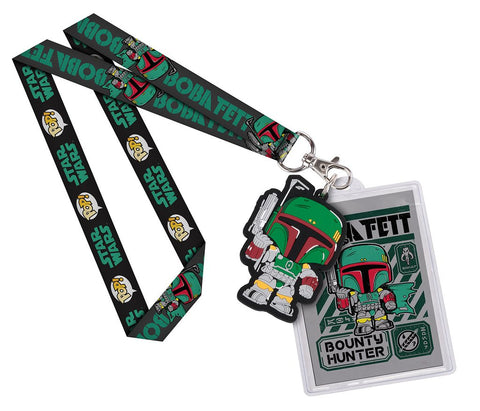 Boba Fett Lanyard ID Badge Holder