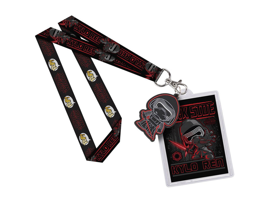 Kylo Ren Lanyard ID Badge Holder