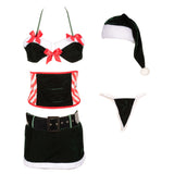Sexy Miss Santa Claus Costume Fancy Dress