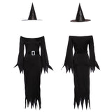HALLOWEEN Wicked Witch Costume Party Fancy Dress Long