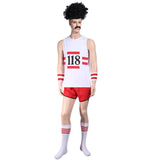 Men Scouser 118 Marathon Retro Vest Shorts Costume
