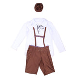 Bavarian Oktoberfest Beer Festival Fancy Dress Brown