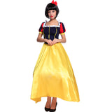 Ladies Snow White Fancy Dress Long