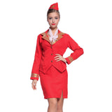 Stewardess Crew Fancy Dress