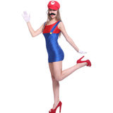 Fever Super Mario Lugi Plumber Bro Fancy Dress