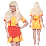 2 Broke Girls TV Series Bar Waitress Fancy Dress