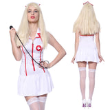 Sexy Nurse Costume Outfit Fancy Dress