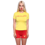 80s 90s Life Guard Rescue Costume Set