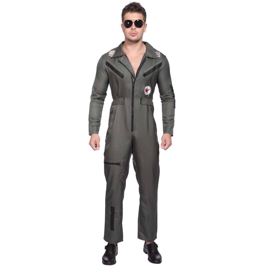 Mens Top Gun Pilot Costume