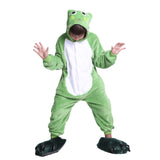 Unisex Kids Onesies Kigurumi Animal Pajamas Frogs Jumpsuit