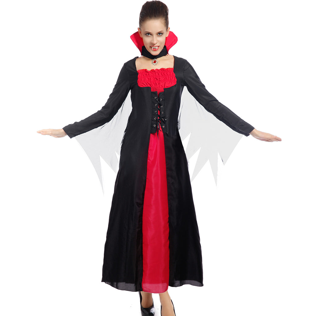 Victorian Vampire Bride of Dracula Fancy Dress