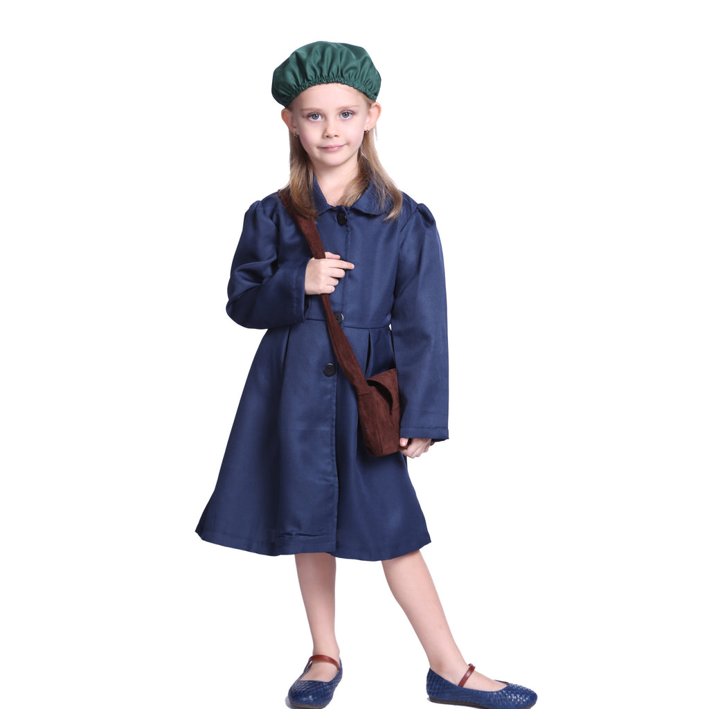 1940s World War II Girl  Costume