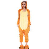 Unisex Adult Onesies Kigurumi Animal Pajamas Tiger Jumpsuit
