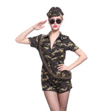 World War II Camouflage Jumpsuit