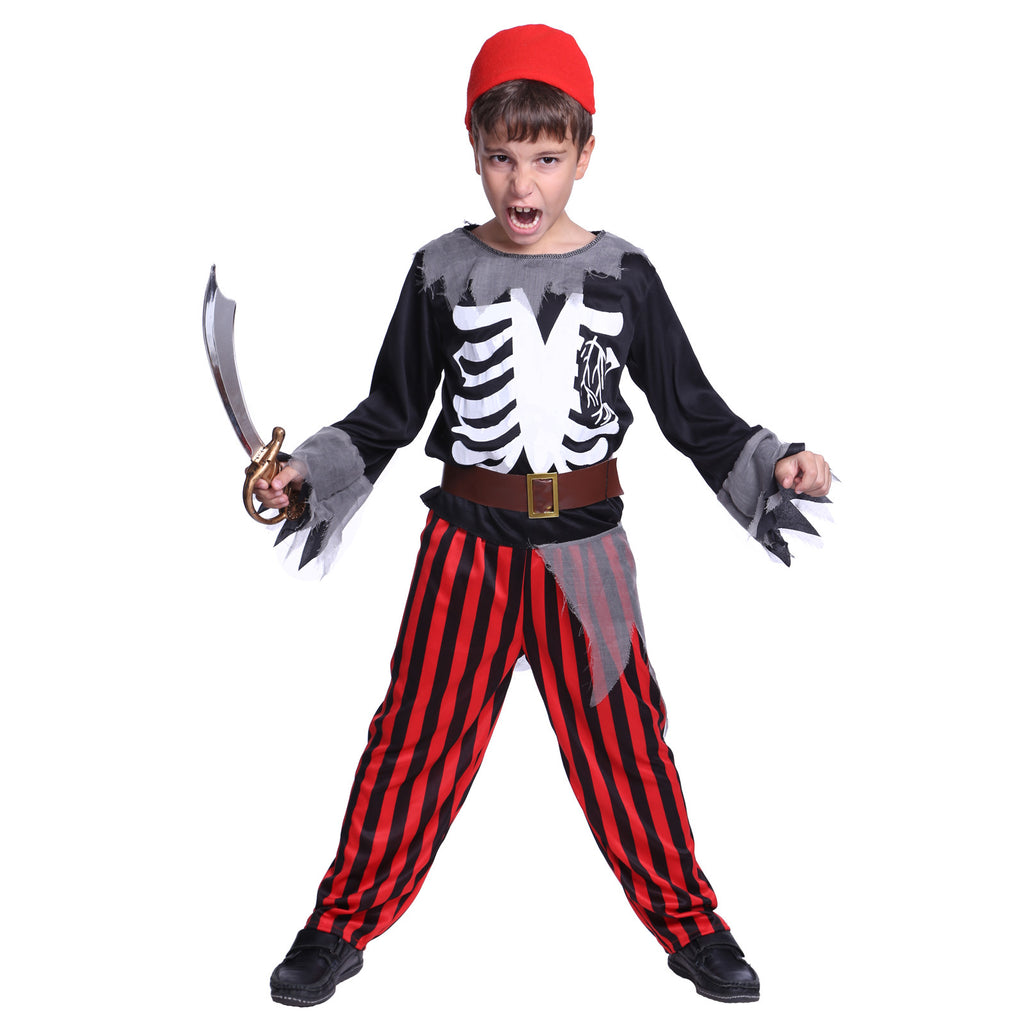Kids Boys Zombie Pirate Costume