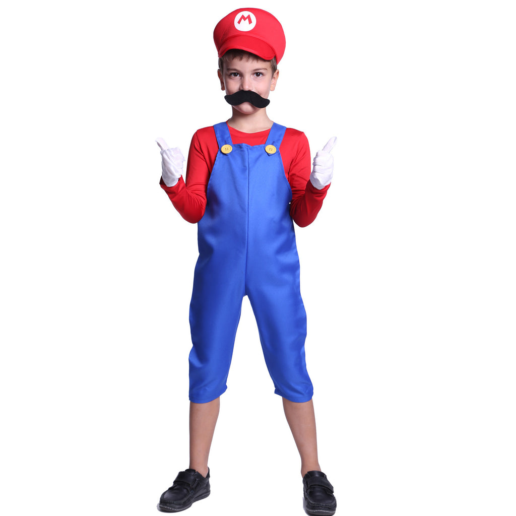 Kids Super Mario Costume