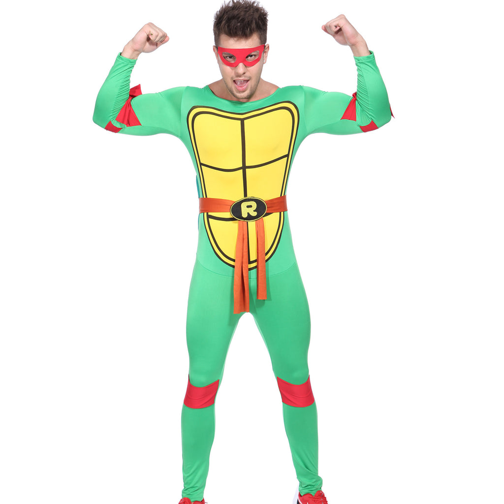 Men Ninja Turtle Costume Red