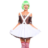 Ladies Oompa Loompa Costume