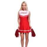 School Cheerleader Uniform Fancy Dress
