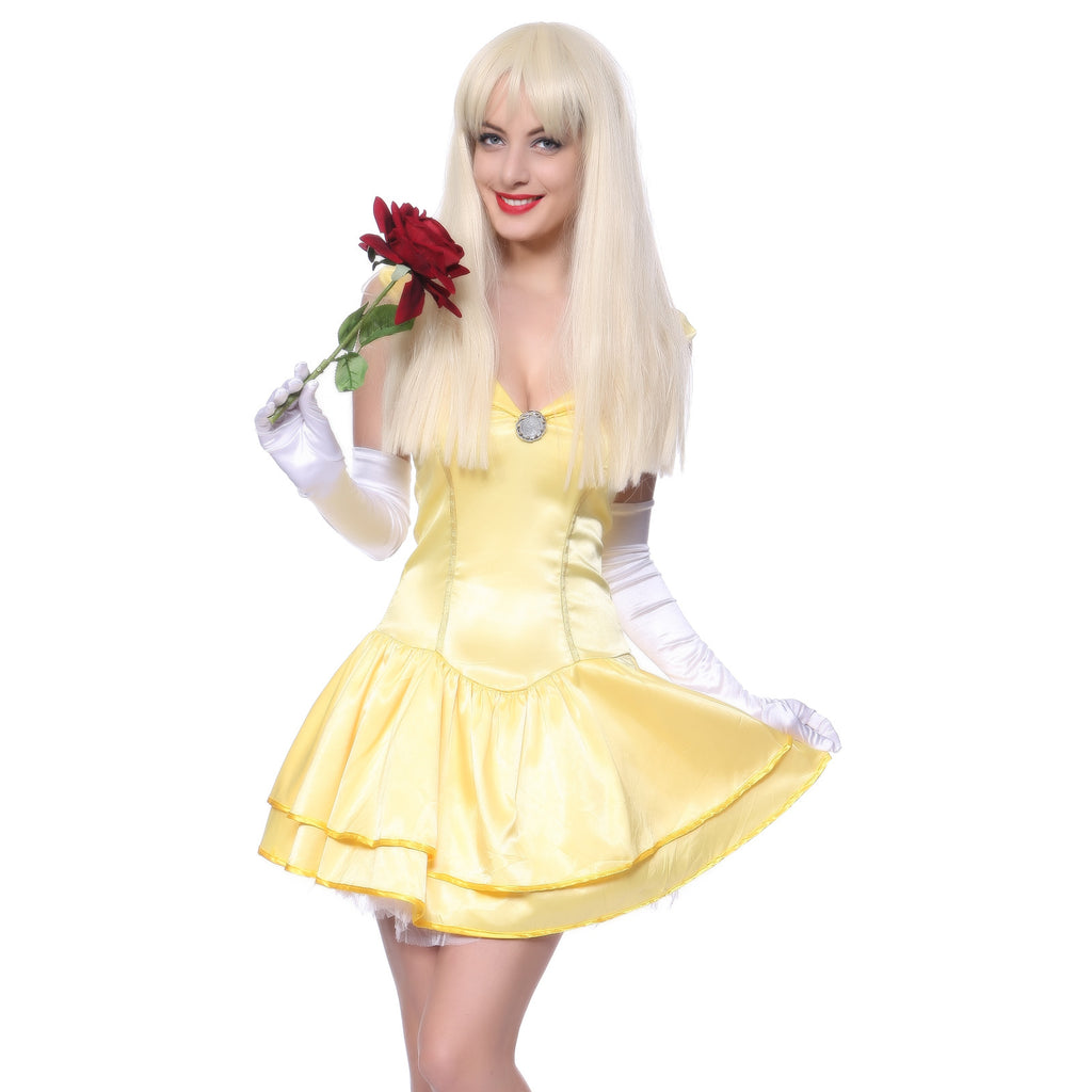 Ladies Princess Belle Fancy Dress