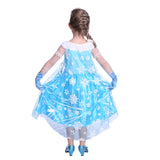 Frozen Queen Elsa Princess Elsa Cosplay Costume