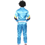 Mens Retro Tracksuit Costume in 1980s