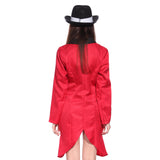 Ladies Circus Ringmaster Tailcoat