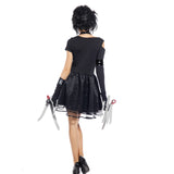 Women Edward Scissorhands Fancy Dress