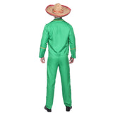 Mens Doritos Style Mexican Tortilla Guy Jacket Costume