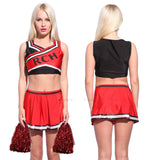 Ladies RCH Cheerleader Uniform Costume