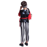 Boys Black Pirate Sailor Costume