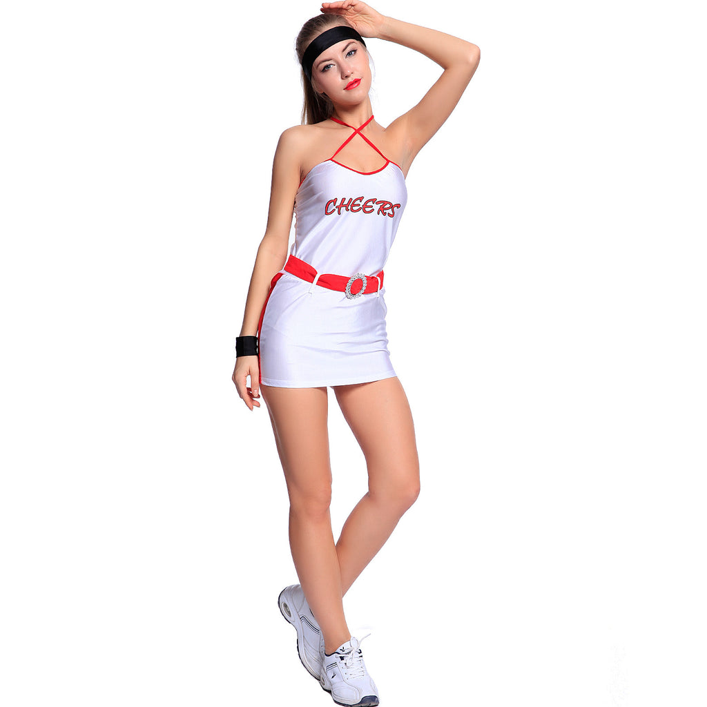 Cheer Girl Basketball High School Fancy Dress