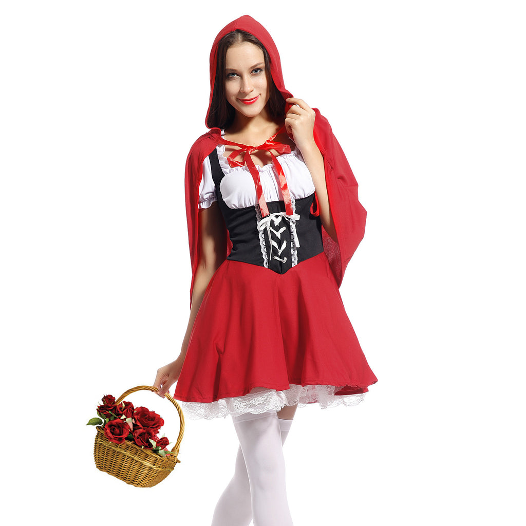 Little Red Riding Hood Storybook Fairytale Fancy Dress