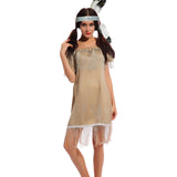 Pocahontas Native American Indianian Wild West Fancy Dress