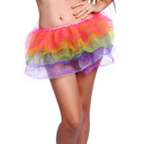 Rainbow Neon Colour Tutu Skirt