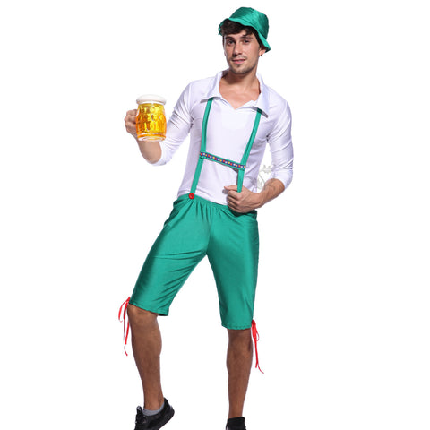 Bavarian Oktoberfest Beer Festival Fancy Dress Green