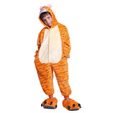 Unisex Kids Onesies Kigurumi Animal Pajamas Tiger Jumpsuit