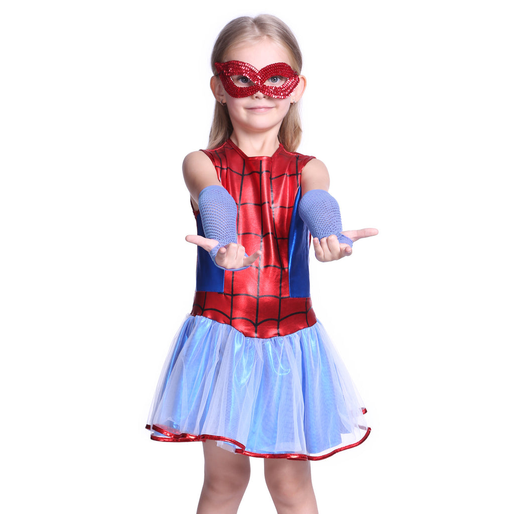 Girl as Spiderman Costume