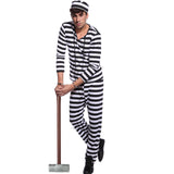Jail Prisoner Costume For Man
